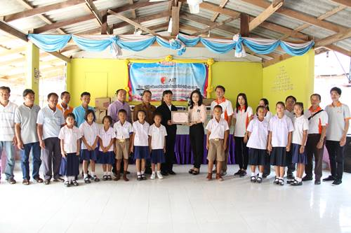 The Company management and employees delivered an