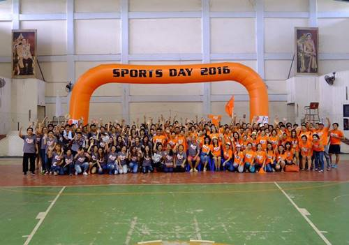 The Company held a competitive Sport Day