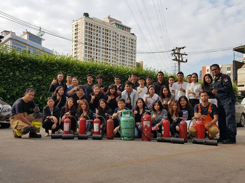 The Company created fire prevention and safety education