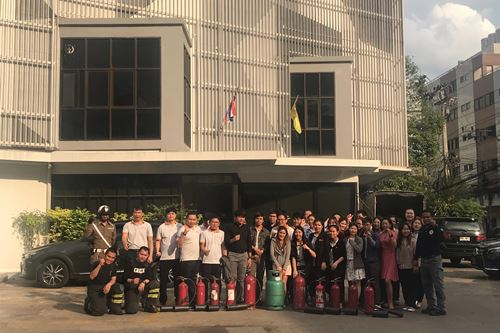 AIT The annual training and fire safety evacuation 2018